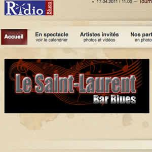 Le Saint-Laurent Bar - site Web