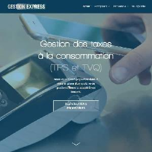 Gestion Express - Site Web